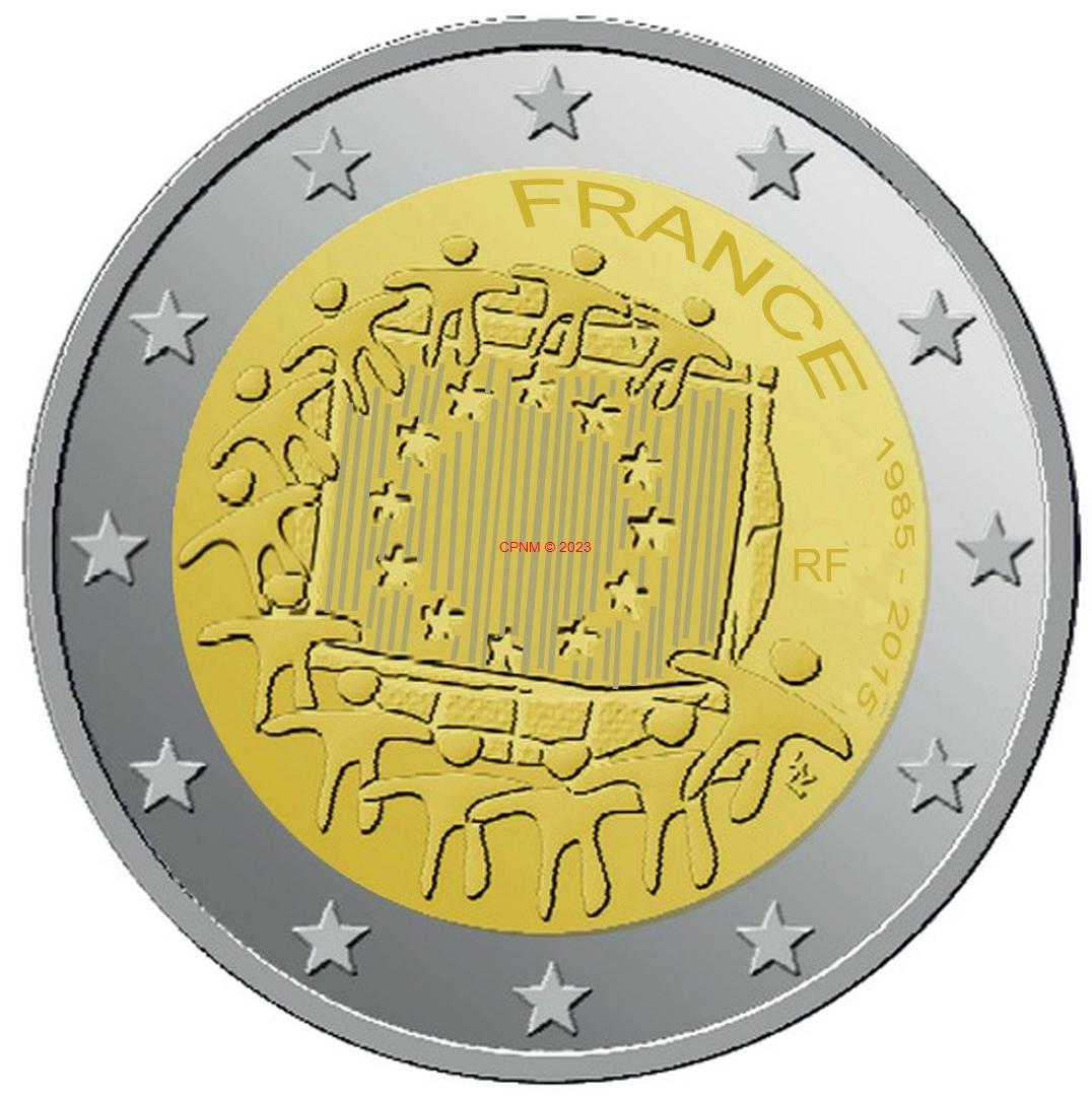 euros france 2 euros comm moratives. Black Bedroom Furniture Sets. Home Design Ideas