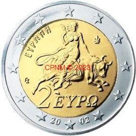 Euros Grèce